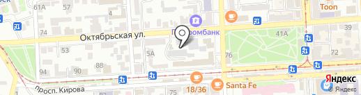 ProfЛик на карте Пятигорска