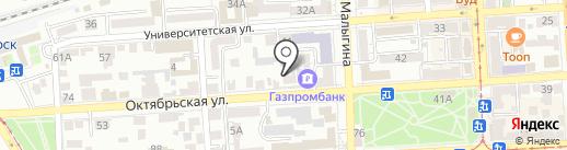Адвокатский кабинет Хачияна В.Н. на карте Пятигорска