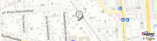 ОптАвто на карте Пятигорска