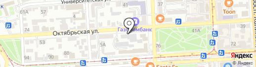 Пятигорское протезно-ортопедическое предприятие на карте Пятигорска