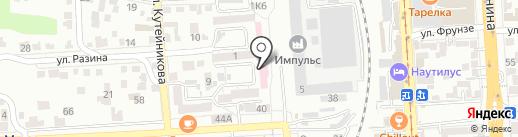 Re-Start КМВ на карте Пятигорска