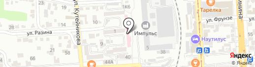 Женская консультация №2 г. Пятигорска на карте Пятигорска