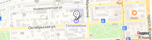 Заботливые руки на карте Пятигорска