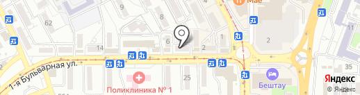 Садко на карте Пятигорска