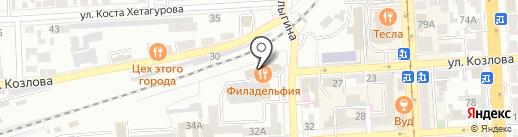 Промсвязьбанк на карте Пятигорска