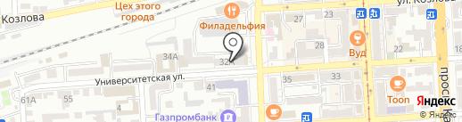 Агентский пункт выдачи продукции на карте Пятигорска