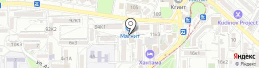 АТМ Альянс на карте Пятигорска