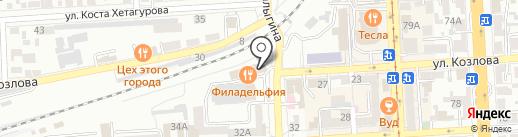 Промсвязьбанк, ПАО на карте Пятигорска