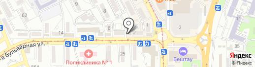 DIZARDI V.A.N.S на карте Пятигорска