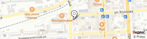 Аптечный пункт на карте Пятигорска