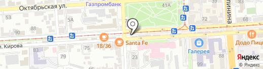 WifiZone2 на карте Пятигорска
