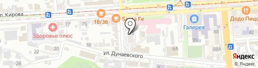 Профи на карте Пятигорска