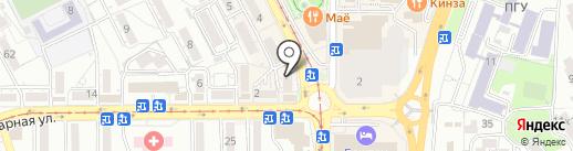 Полезный на карте Пятигорска