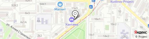 ЧЕРДАК на карте Пятигорска