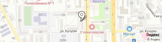 KDL на карте Пятигорска
