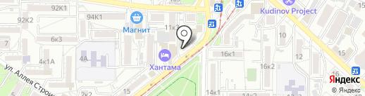 РЕТРО Version на карте Пятигорска