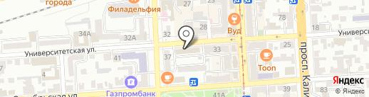 Ставропольэнерго на карте Пятигорска