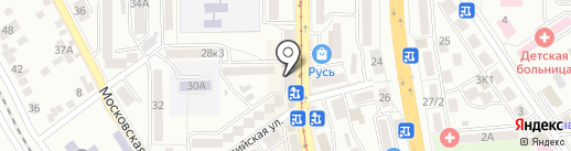Selivana на карте Пятигорска