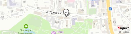 Пятигорский водоканал на карте Пятигорска
