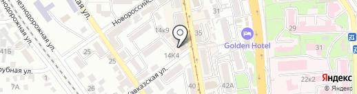 Marco Pini на карте Пятигорска