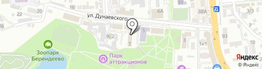 Парк культуры и отдыха им. С.Н. Кирова на карте Пятигорска