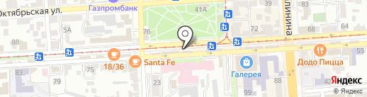 Jazzve на карте Пятигорска