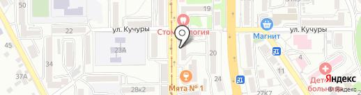 Forma на карте Пятигорска