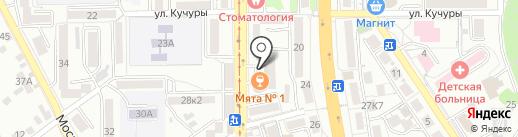 Телко на карте Пятигорска
