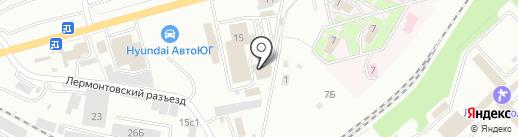Принформ-Сервис на карте Пятигорска