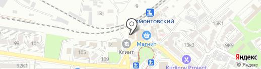 Шашлыки у Володи на карте Пятигорска