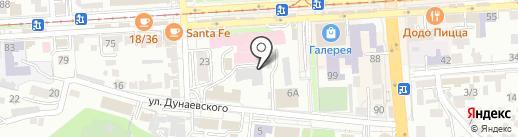 Кибер на карте Пятигорска