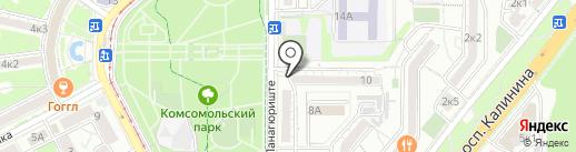 Почтовое отделение №32 на карте Пятигорска