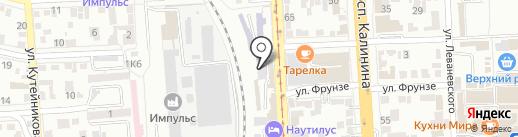 ENERGY на карте Пятигорска