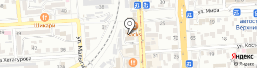 КМВ Тур на карте Пятигорска