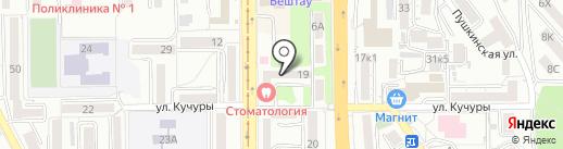 Пятигорская городская стоматологическая поликлиника на карте Пятигорска
