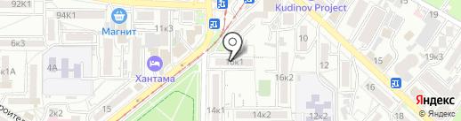 Техноклимат-КМВ на карте Пятигорска