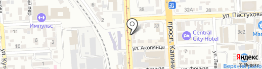 iExpress на карте Пятигорска