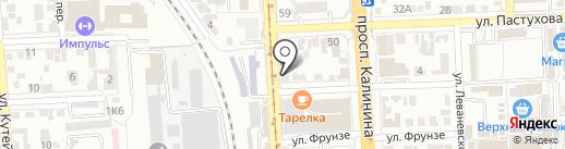 La Petit на карте Пятигорска