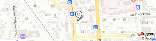 Калита на карте Пятигорска