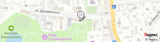 Пятый Сезон на карте Пятигорска