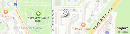 Пятигорский гарнизонный военный суд на карте Пятигорска