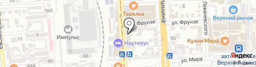 Buntar` на карте Пятигорска