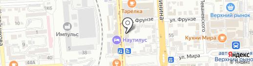 Воскуримся на карте Пятигорска