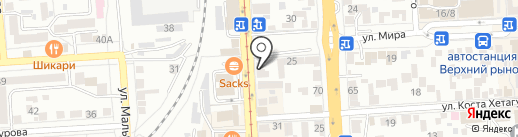 ГИРО ПИТА на карте Пятигорска