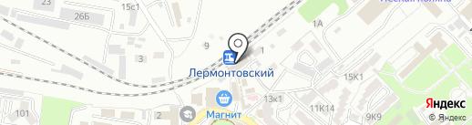 Банкомат, Банк ВТБ 24 на карте Пятигорска