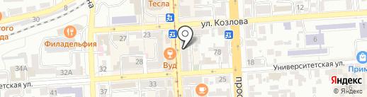 Элит-Сити на карте Пятигорска