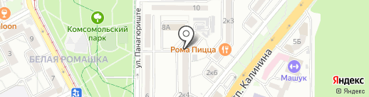 Машук.Ру на карте Пятигорска