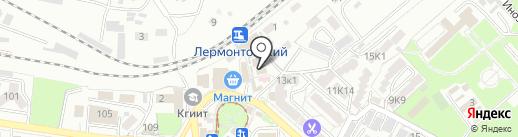 Mon coutur на карте Пятигорска