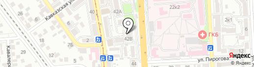 SIDENT на карте Пятигорска