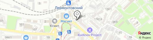 Bellissimo на карте Пятигорска